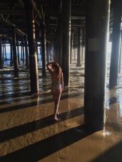 Under the Pier in Santa Monica
