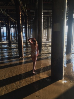 Under the Pier in Santa Monica