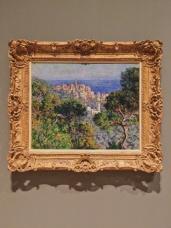 Claude Monet's View of Bordighera. Location: Westwood, California