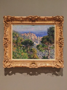 Claude Monet's View of Bordighera​. Location: Westwood, California